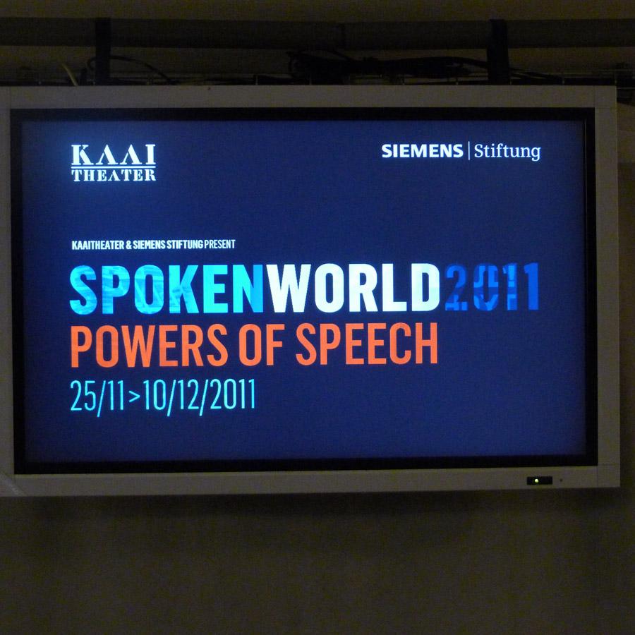 Discurso de un hombre decente - Lecture Performance